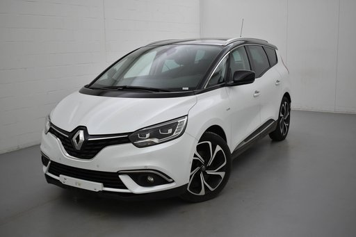 Renault Grand Scenic blue DCI bose edition 150 7PL